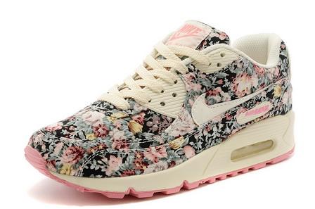 quality design 00aa6 48a3b Chaussures Nike Air Max 90 Femme Fleur Prix Usine Tea823