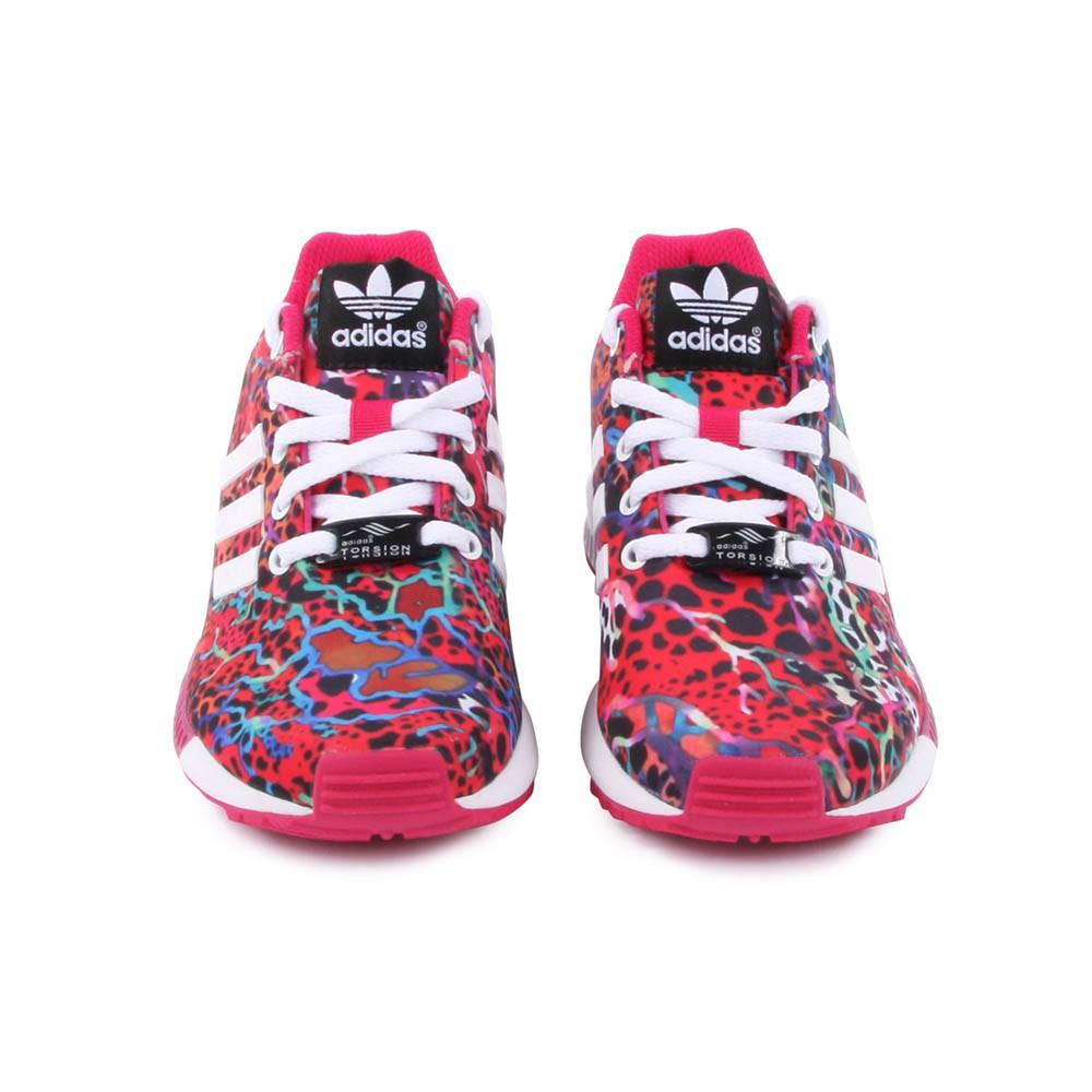 more photos f9d1a 7d88c Chaussures Adidas Zx Flux Femme Fleur En Ligne Tang327