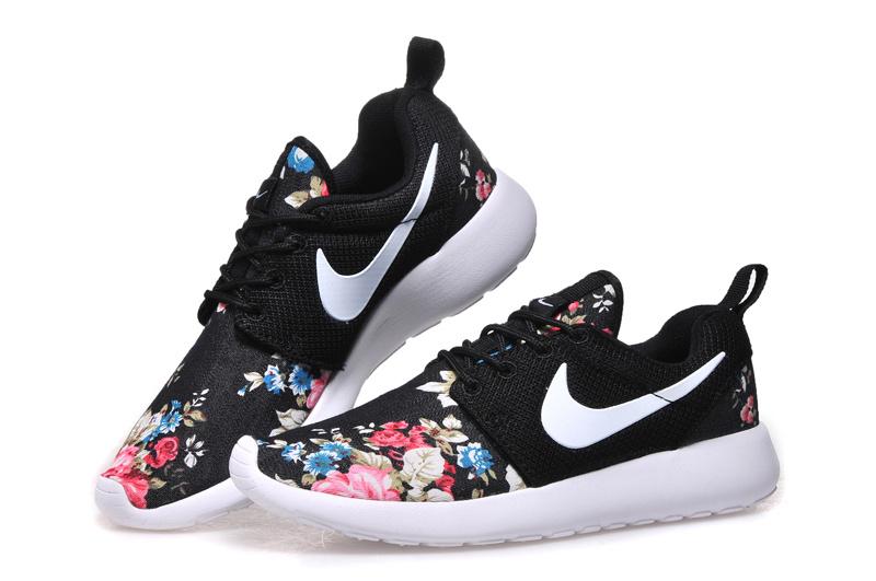 uk availability 37e78 962db Vente Chaude Nike Roshe Run Femme Fleur Prix Usine Jing446